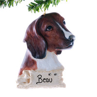 Christmas ornament Personalized Beagle ornament Perfect personalized gift for the beagle lover in your life