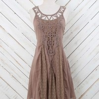 Altar'd State Cute in Cocoa Dress | Altar'd State
