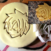 Fairy Tail Gray Fullbuster Cookie Cutter - Made from Biodegradable Material