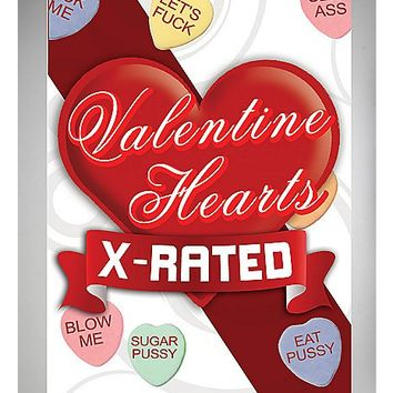 X-Rated Valentine Heart Candies - Spencer's