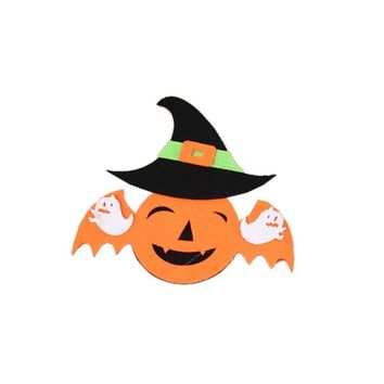1PC Witch Pumpkin Halloween Funny Ghost Headband Headdress Halloween Costume Headdress for Mardi Gras Halloween Party Supplies