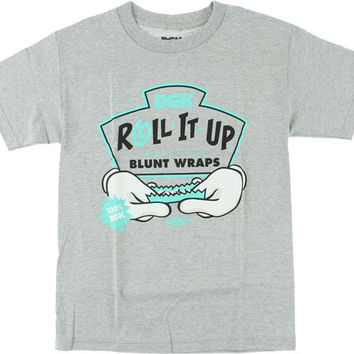 DGK Roll It Up Tee Small Athletic Heather