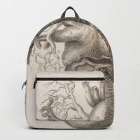 The Back Of The Heart Backpack by Blue Specs Studio