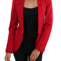 The Open Position Blazer (Red)