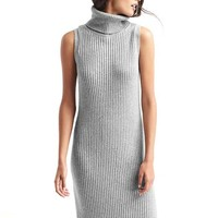Ribbed turtleneck tank dress | Gap