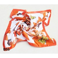 Scarf Office Workwear Scarves Foulard fashion Women  bandana Office Lady Gift NeckerChief  Casual 2017 silk scarf