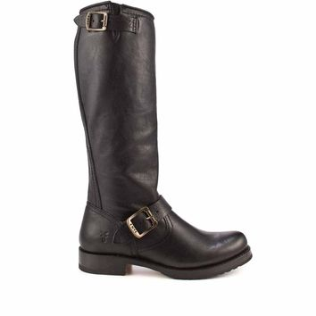 Frye Boot Veronica- Slouch Black Knee-High