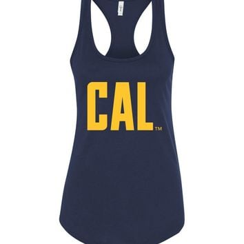 Official NCAA University of California UC Berkeley Golden Bears CAL Oski! Next Level Racerback Tank - 05c-cal