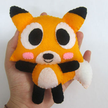 Cute Palm Size Plush Raccoon - Alex