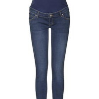 MATERNITY Over The Bump Leigh Jeans - Dark Stone