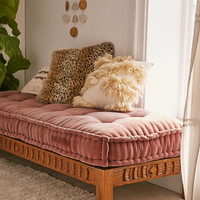 Rohini Velvet Daybed Cushion | Urban Outfitters