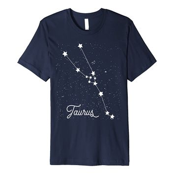 Taurus Horoscope Shirt Astrology Taurus Zodiac Constellation