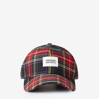 Crimson Cap in Red Plaid