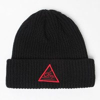 Obey Augusta Beanie - Mens Hats - Black - One