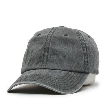 VONE05F Day First Vintage Washed Cotton Twill Baseball Cap