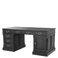 Black Rectangular Desk | Eichholtz British