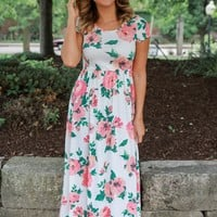 Pacific Delight Maxi Dress