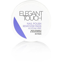 River Island Womens Elegant Touch nail polish remover pads
