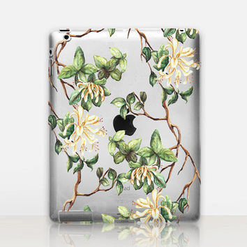 Floral iPad Case For - iPad 2, iPad 3, iPad 4 and iPad Mini, Fine Art Hard Case