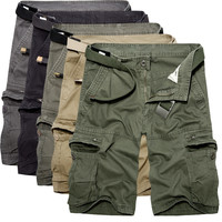 Men With Pocket Pants Plus Size Training Cotton Shorts [10241476611]