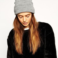 ASOS Deep Turn Up Beanie