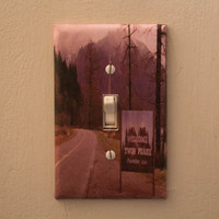 Twin Peaks  - David Lynch  Light Switch Plate