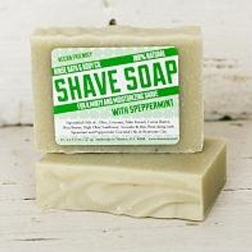 SPEPPERMINT SHAVE SOAP