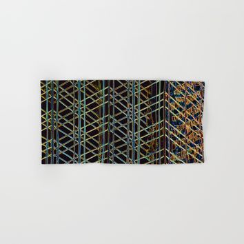 Abstract Design 1 Hand & Bath Towel by Claude Gariepy