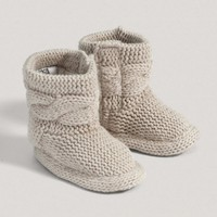 Unisex Welcome To The World Neutral Booties