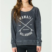 Billabong WITH MUCH ALOHA PULLOVER TOP - Off Black - J6223WIT				 | 
