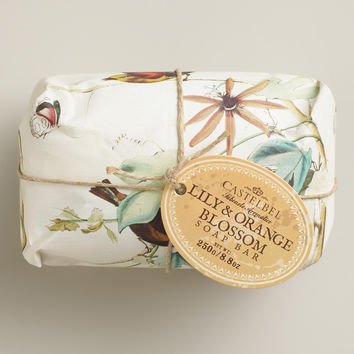 Castelbel Lily and Orange Blossom Bar Soap - World Market