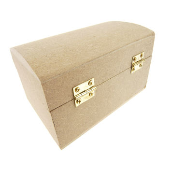 Wooden Favor Containers Keepsake, 5-inch, Jewelry Box