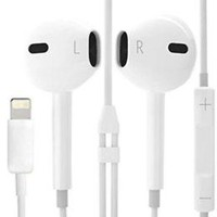 For iPhone X 8 7 Plus 8-Pin Earpods Bluetooth Earphone Wired Headset Headphone