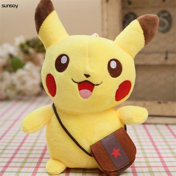 20CM Pikachu Plush Toys Cute Pikachu Soft Toy For Children Gift Chirstmas Collection for kids christmas gift