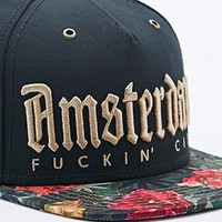 Cayler & Sons Amsterdam Snapback Cap in Black - Urban Outfitters