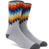 On The Byas Paint Chip Explosion Crew Socks - Mens Socks - Multi - One