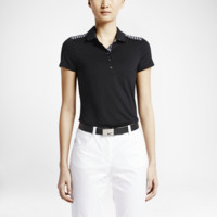 Nike Gingham Mix Women's Golf Polo Shirt