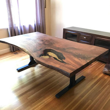 Black Walnut Kitchen Table