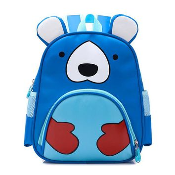 Toddler Backpack class Orthopedic Cute Owl Animals Baby Backpack Kids Toddler School Bags for Girls 3-5 years Children ZOO families Kindergarten Bag AT_50_3