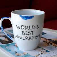 Arrested Development Tobias Blue Mug