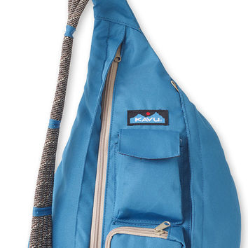 Monogrammed Kavu Rope Bags - Seaport - Great gift for College, Teens, Women, Outdoors Satchel Crossbody Tote