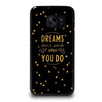 KATE SPADE QUOTE Samsung Galaxy S7 Edge Case Cover