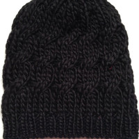 Knitted Cable Knit Beanie for GirlsAdult 100 Acrylic by emmaflhair