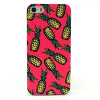 "Cute funny Picture Hard Back Case Cover Skin For Apple iPhone5 5G 5S -Pink Pineapple (Package includes: 1 X Screen Protector and Stylus Pen image""Gift_Source"")"