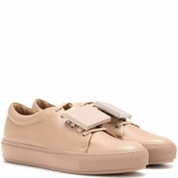 Adriana TurnUp leather sneakers