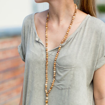 Betsy Pittard Designs Andi Necklace - Brown