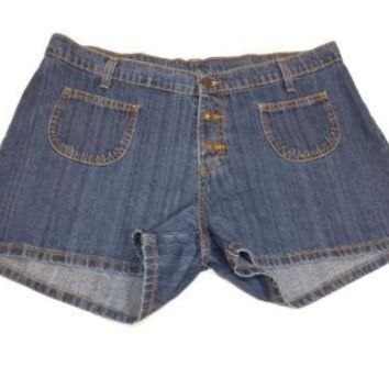 Jordache Teen Girls Designer Jeans Jean Denim Shorts Size 17 /18