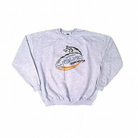 Manchester Wolves - Logo Heather Grey Adult Sweatshirt