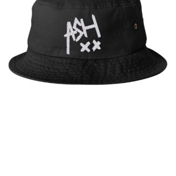 ASH embroidery hat - Bucket Hat