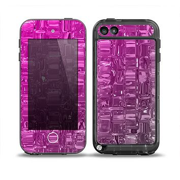The Hot Pink Mercury Skin for the iPod Touch 5th Generation frē LifeProof Case